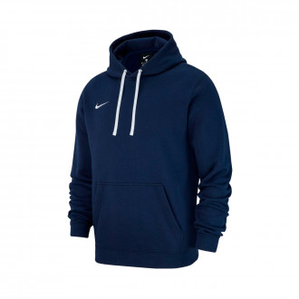 Sweatshirt  Nike Club 19 Hoodie Obsidian-White