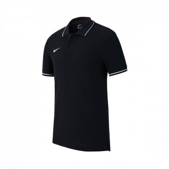 Polo shirt  Nike Club 19 m/c Black-White