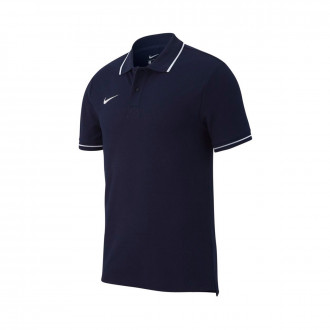 Polo shirt  Nike Club 19 m/c Obsidian-White