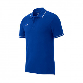 Polo shirt  Nike Club 19 m/c Royal-White