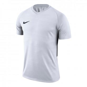 Camiseta  Nike Tiempo Premier m/c White-Black