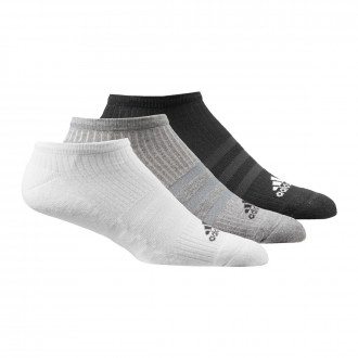 Calcetines  adidas 3S Per n-s HC (3 pares) Black-Grey-White