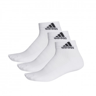 Calcetines  adidas 3S Performance Ankle Half Cushioned 3pp White