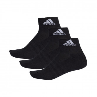 Calcetines  adidas 3S Performance Ankle Half Cushioned 3pp Black