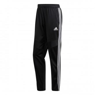 Pantalón largo  adidas Tiro 19 Polyester Black-White