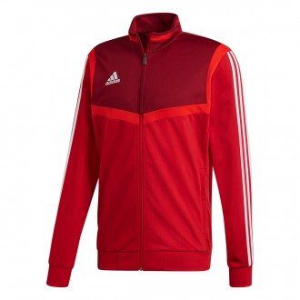 Jacket  adidas Tiro 19 Polyester Niño Power red-White