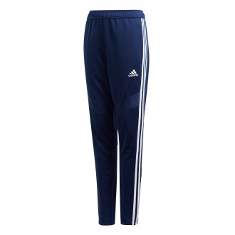 Tracksuit bottoms  adidas Tiro 19 Training Niño Dark blue-White