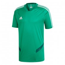 Camiseta Tiro 19 Training m/c Bold green-White