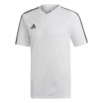 Camiseta  adidas Tiro 19 Training m/c White-Black