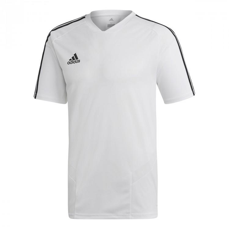 b8709dd265bccf Maglia adidas Tiro 19 Training m/c White-Black - Negozio di calcio ...