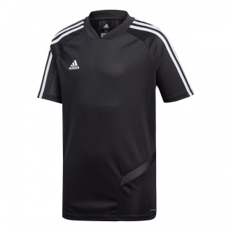 Jersey  adidas Tiro 19 Training m/c Niño Black-White