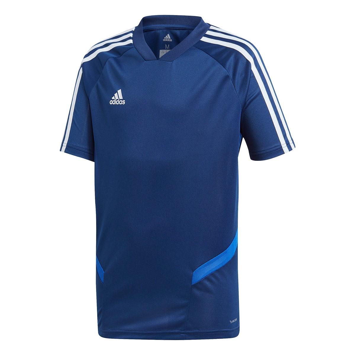 fa6fe7f0cb8c27 Maglia adidas Tiro 19 Training m/c Junior Dark blue-Bold blue-White -  Negozio di calcio Fútbol Emotion