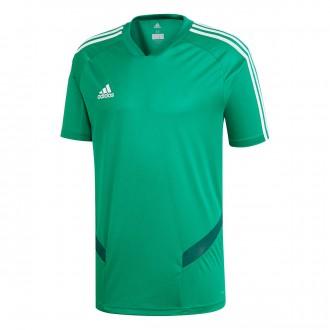 Camiseta  adidas Tiro 19 Training m/c Niño Bold green-White