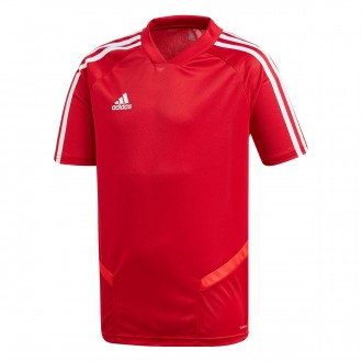 Jersey  adidas Tiro 19 Training m/c Niño Power red-White