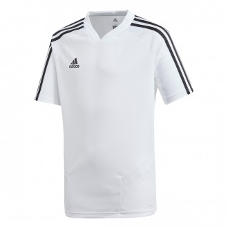 Jersey  adidas Tiro 19 Training m/c Niño White-Black