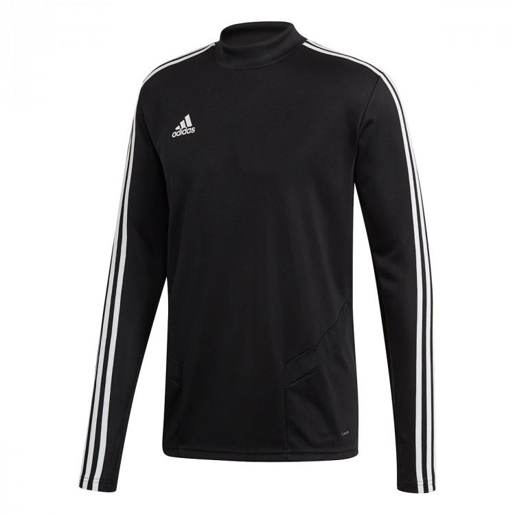 07f3595ea832df Felpa adidas Tiro 19 Training Black-White - Negozio di calcio Fútbol ...