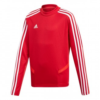 Sweatshirt  adidas Tiro 19 Training Power red-White