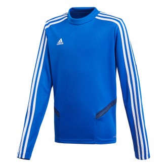 Sweatshirt  adidas Tiro 19 Training Niño Bold blue-Dark blue-White