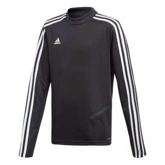 Sweatshirt  adidas Tiro 19 Training Niño Black-White