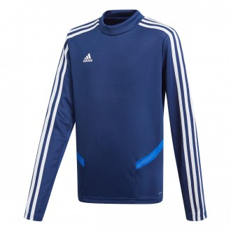 Sweatshirt  adidas Tiro 19 Training Niño Dark blue-Bold blue-White