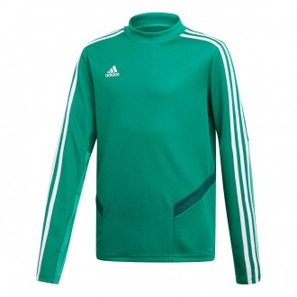 Sweatshirt  adidas Tiro 19 Training Niño Bold green-White