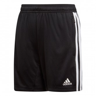 Pantaloncini  adidas Tiro 19 Training Niño Black-White