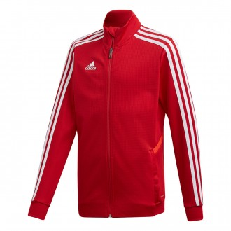 Jacket  adidas Kids Tiro 19 Training  Power red-White