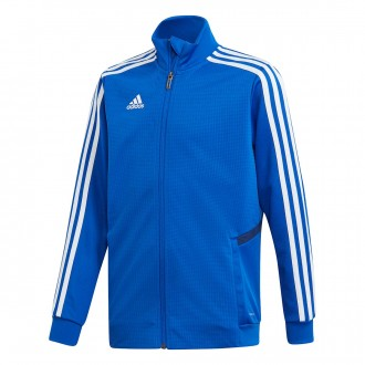 Jacket  adidas Kids Tiro 19 Training  Bold blue-Dark blue-White