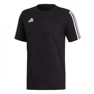 Camiseta  adidas Tiro 19 Tee m/c Black-White