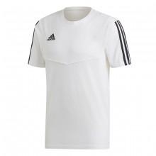 Camiseta Tiro 19 Tee m/c White-Black