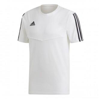 Camiseta  adidas Tiro 19 Tee m/c White-Black