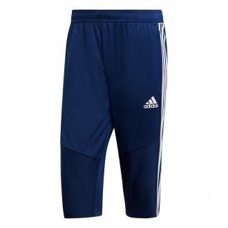 Pantalón pirata  adidas Tiro 19 Dark blue-White