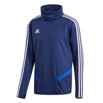 Sweatshirt  adidas Tiro 19 Warm Dark blue-White