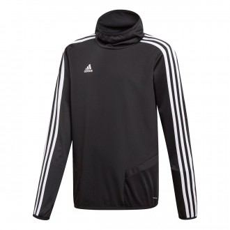 Felpa  adidas Tiro 19 Warm Junior Black-White
