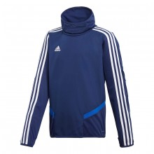 Sudadera Tiro 19 Warm Niño Dark blue-White