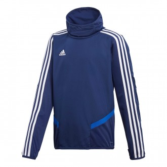 Felpa  adidas Tiro 19 Warm Junior Dark blue-White