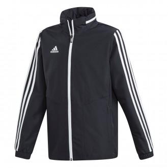 Raincoat  adidas Kids Tiro 19  Black-White