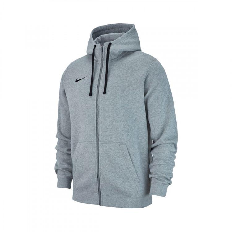 c005f27cd Jacket Nike Club 19 Full-Zip Hoodie Niño Dark grey heather-Dark ...