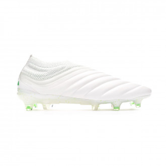 Football Boots  adidas Copa 19+ FG White-Solar lime