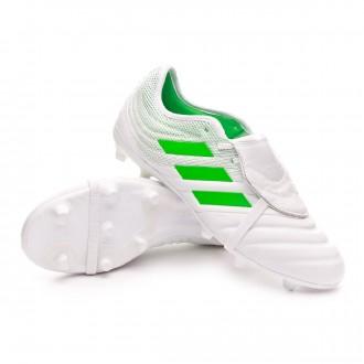 Football Boots  adidas Copa Gloro 19.2 FG White-Solar lime