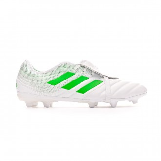 Chaussure de foot  adidas Copa Gloro 19.2 FG White-Solar lime