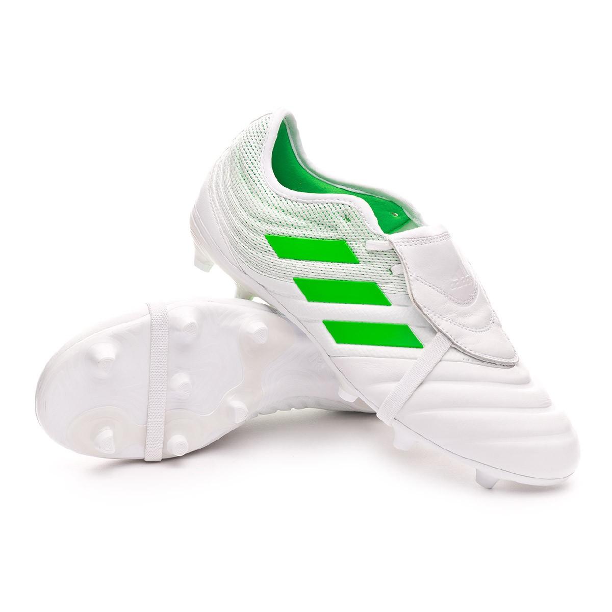 Scarpe adidas Copa Gloro 19.2 FG White Solar lime Negozio