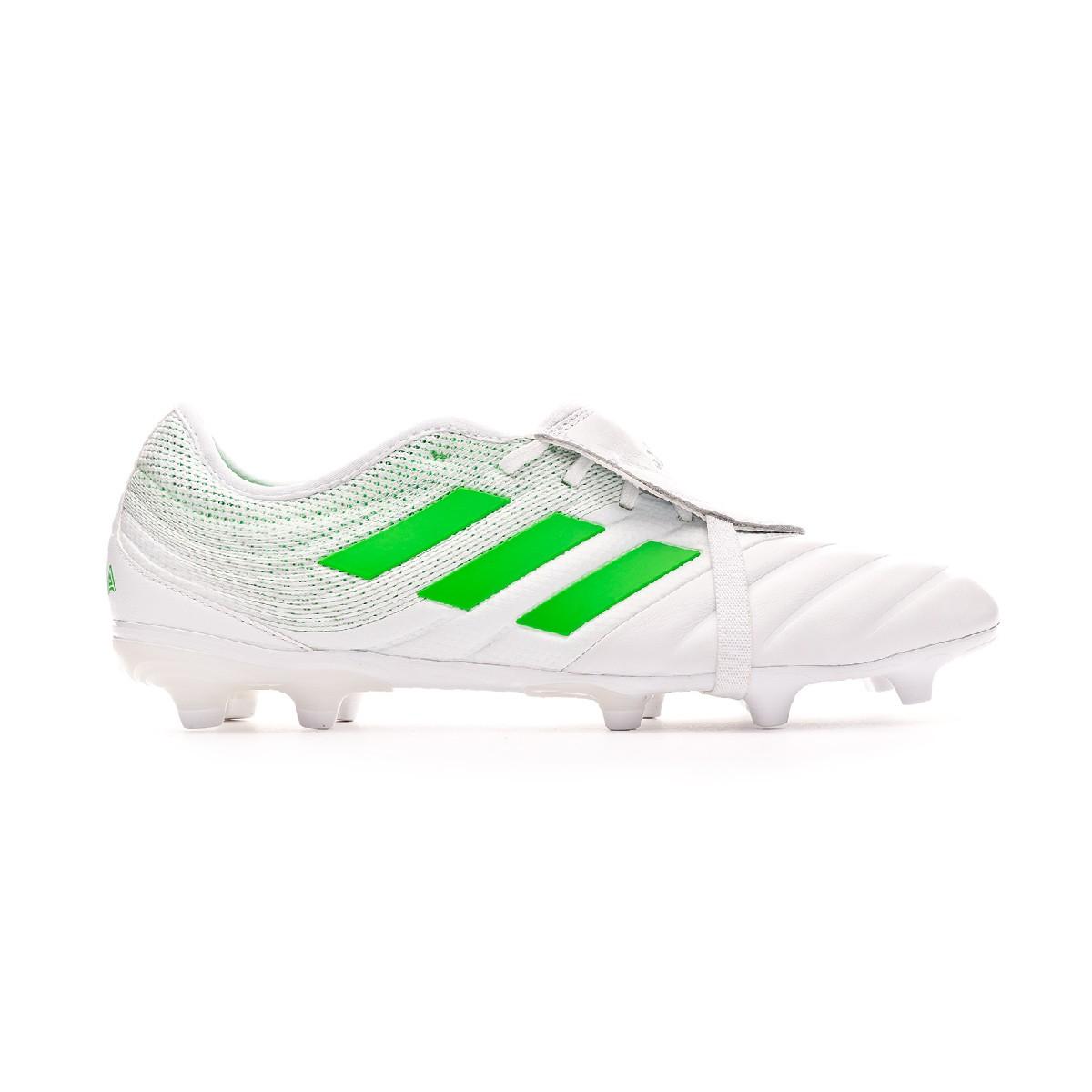 puramente cruzar paleta  Football Boots adidas Copa Gloro 19.2 FG White-Solar lime - Football store  Fútbol Emotion