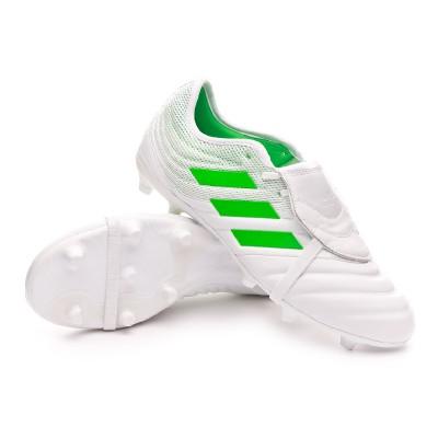 Presentar servilleta Sábana  Football Boots adidas Copa Gloro 19.2 FG White-Solar lime - Football store  Fútbol Emotion