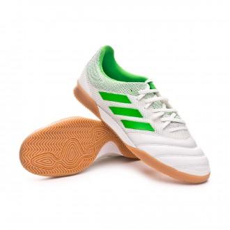 Futsal Boot  adidas Copa Tango 19.3 IN Sala White-Solar lime