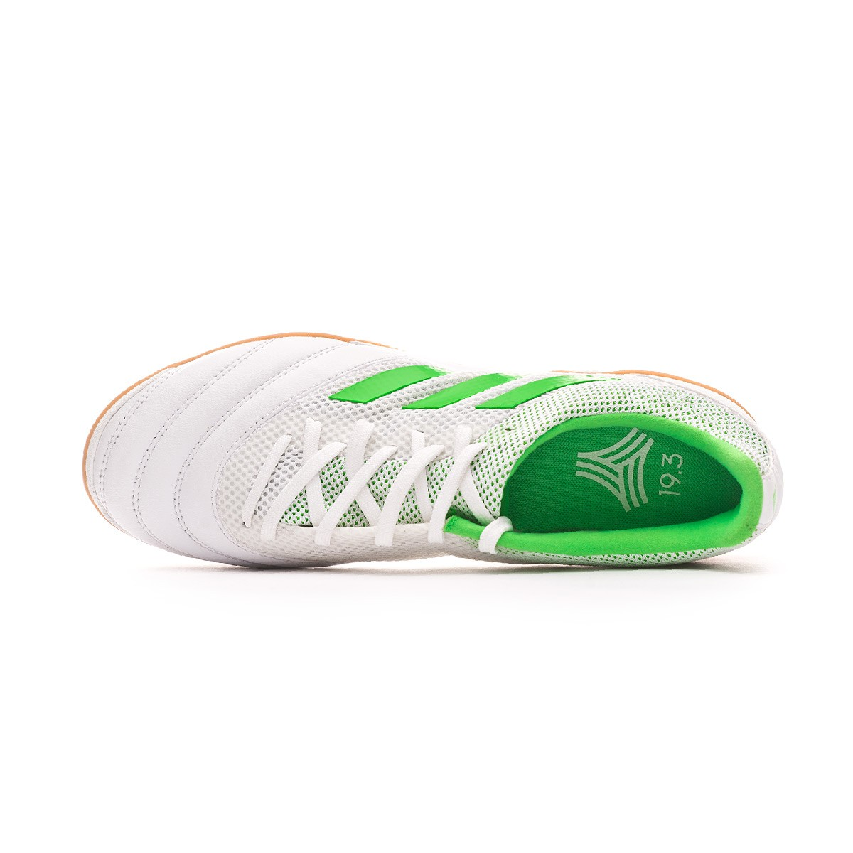 9a652e49d Futsal Boot adidas Copa Tango 19.3 IN Sala White-Solar lime - Football  store Fútbol Emotion