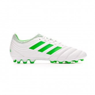 Football Boots  adidas Copa 19.3 AG White-Solar lime