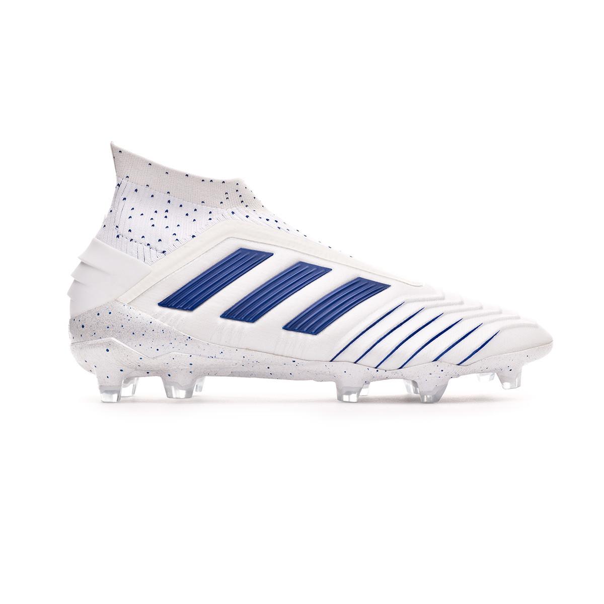 f52a9a900 Football Boots adidas Predator 19+ FG White-Bold blue - Nike Mercurial  Superfly | Shop Nike Soccer Cleats ypsoccer.com