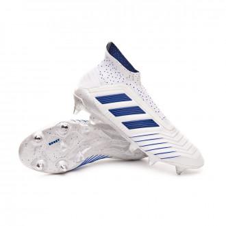 Football Boots  adidas Predator 19+ SG White-Bold blue
