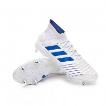 Football Boots Predator 19.1 SG White-Bold blue